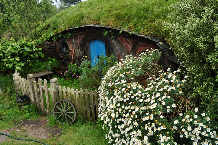 Hobbit Hole for root cellar