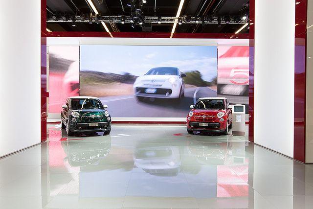 #Fiat #500L and #500LLiving at 65th International Motor Show IAA 2013 in Frankfurt
