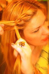 Fashion Maven... Mommy: French Braid Bang Tutorial