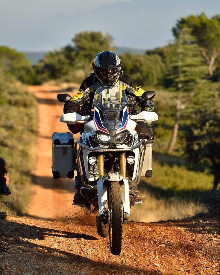 Flight Testing the #Touratech equipped #AfricaTwin.