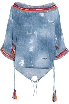 denim and embroidery
