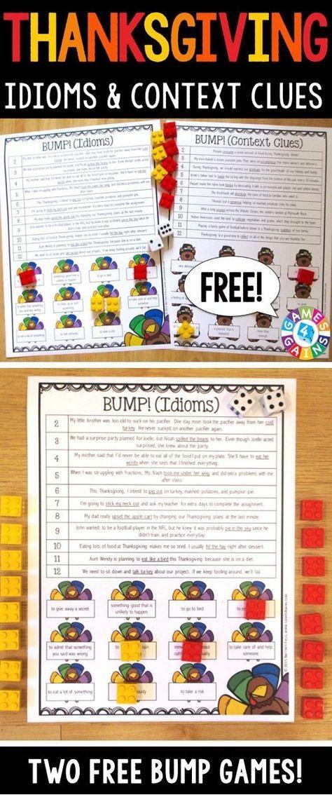 Machen Sie mit diesen kostenlosen Erntedankspielen noch mehr Spaß! – SLP | Speech Therapy Activities