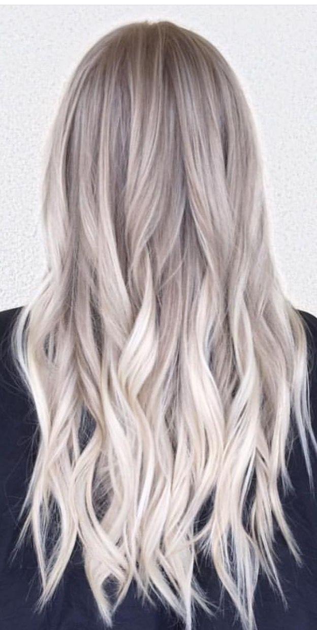 Cool Blonde hair shade