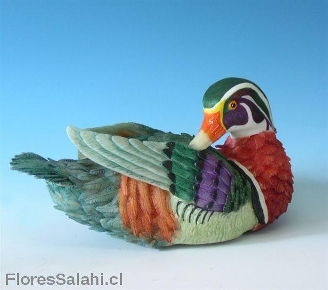 Pato de madera. | Flores Salahi