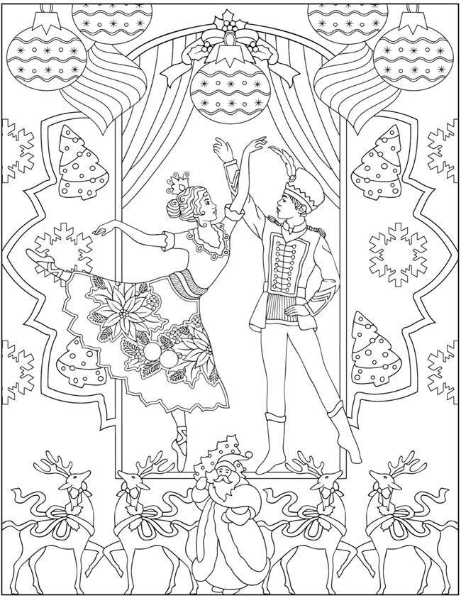 Welcome To Dover Publications Dover Publications Welcome Weihnachten Zum Ausmalen Weihnachtsmalvorlagen Ausmalbilder