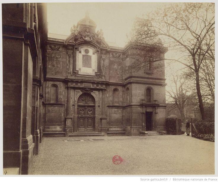 Paris 6e - Petit Luxembourg : ancien couvent des filles du Calvaire : Oratoire de Marie de Médicis : [photographie] / [Atget]