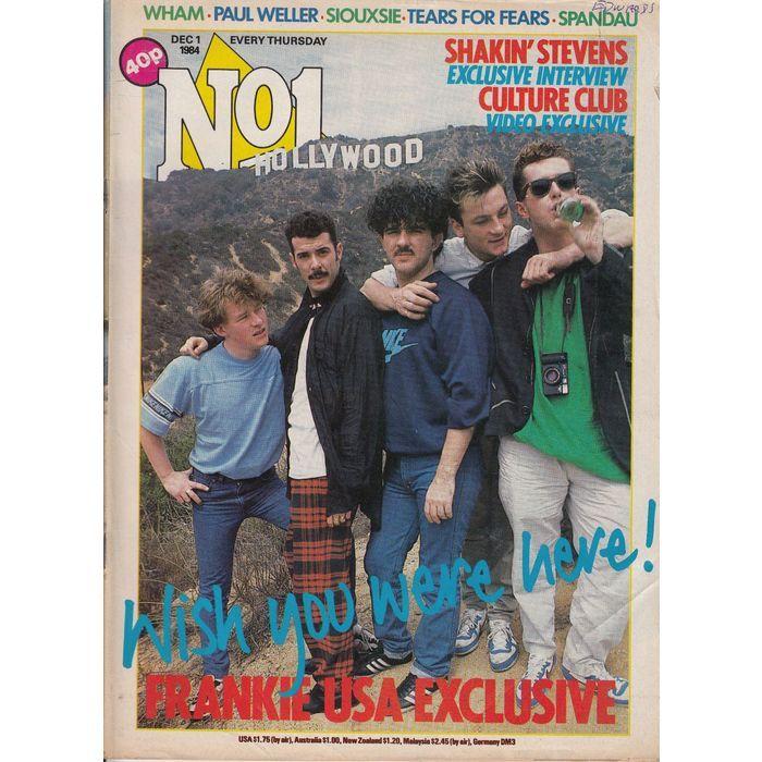No.1 Magazine Dec 1 1984 FRANKIE GOES TO HOLLYWOOD Cover / JOHN KEEBLE Back Listing in the Music,Magazines,Books, Comics  & Magazines Category on eBid United Kingdom | 143707162