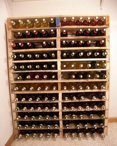 1000 id es sur le th me casiers bouteilles de vin en bois sur pinterest tag res. Black Bedroom Furniture Sets. Home Design Ideas