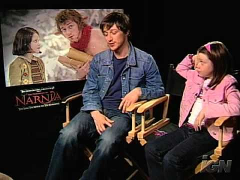 The Chronicles of Narnia - Interview with James McAvoy (Mr. Tumnus) and Georgie Henley (Lucy). I love their friendship sooo much! Sweetest thing ever!!