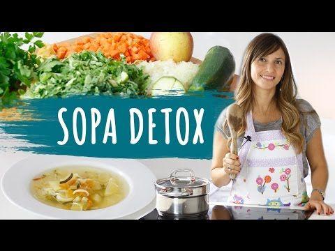Como fazer uma sopa detox para emagrecer