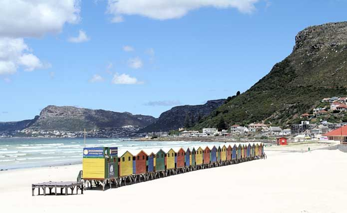 Muizenberg Beach, Cape Town, South Africa