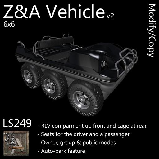 Z&A Vehicle (6x6)