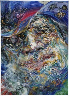 Maggi Hambling - George Melly 1998