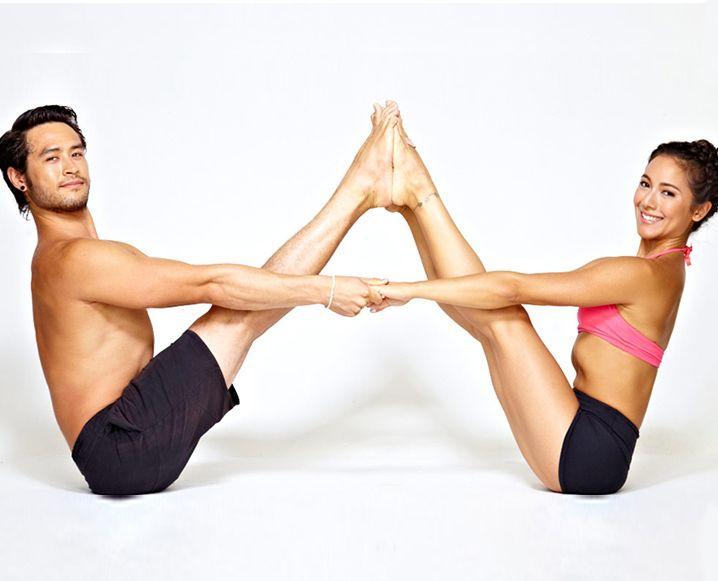 Relationship Goals: Meet Bryce Yoga, The Brangelina Of the Yoga World... #relationshipgoals #bryceyoga #yoga