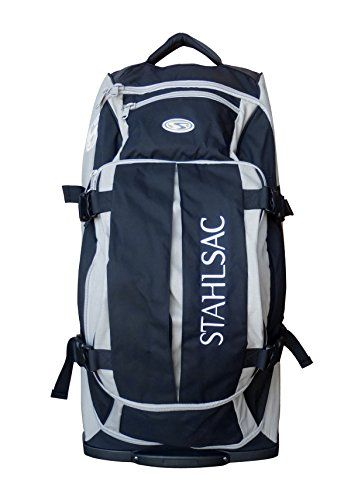 House of Scuba Special Edition Stahlsac Curacao Clipper Travel Roller Duffel Dive Bag (Grey - Limited Edition)