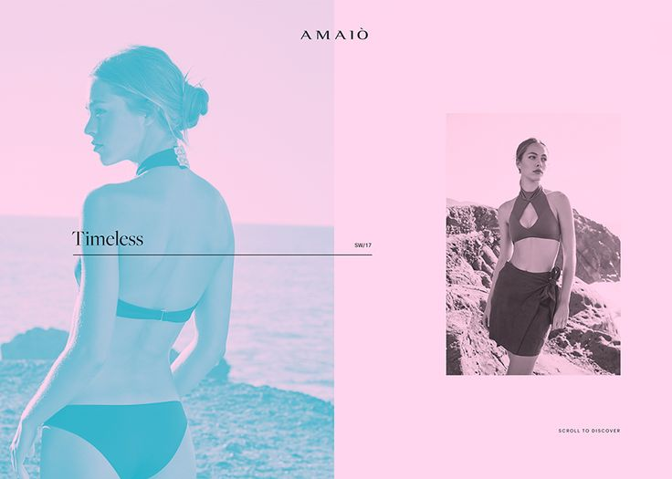 Amaiò Swim - Awwwards Site Of The Day - Awwwards