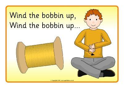 Wind the Bobbin Up Visual Aids (SB11503) - SparkleBox