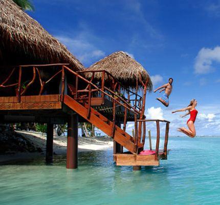 Cook Islands Bungalows   Aitutaki Lagoon Resort & Spa   Aitutaki   Cook Islands
