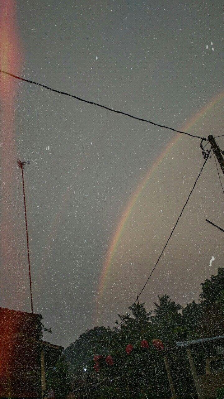 Ada Pelangi Di Matamu : pelangi, matamu, Rainbow, Rainbow,, Photography,, Sidewalk
