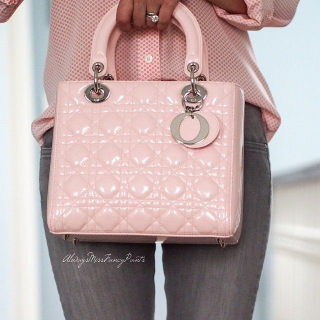 And the close up of my Lady I think that this photo shows the true color of this lovely bag  #bagoftheday #LadyDior #PurseBopPics