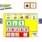 Modified menus to teach students about ordering food and support community based instruction...