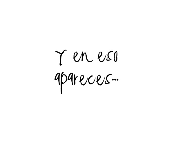 """""""and this appears""""En Eso"""