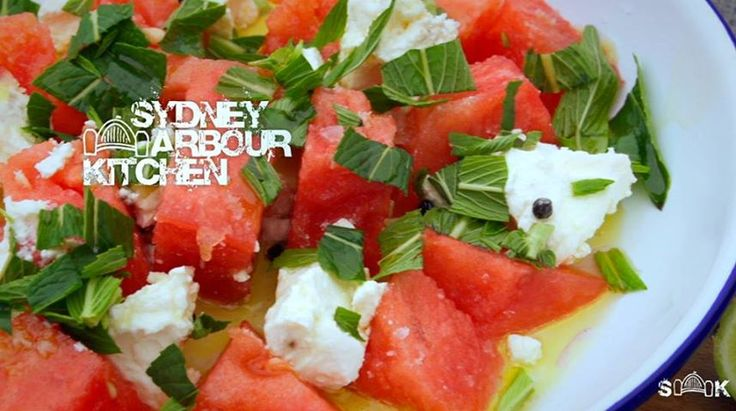 Watermelon and Fetta Salad