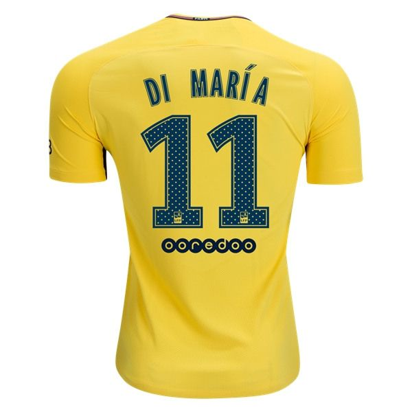Nike Angel Di Maria Paris Saint-Germain Authentic Away Jersey 17/18