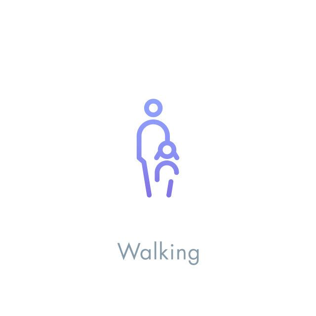 Icon Design - Walking #icon #icondesign #picto #pictogram #symbol #line #human #walking #child #minimal
