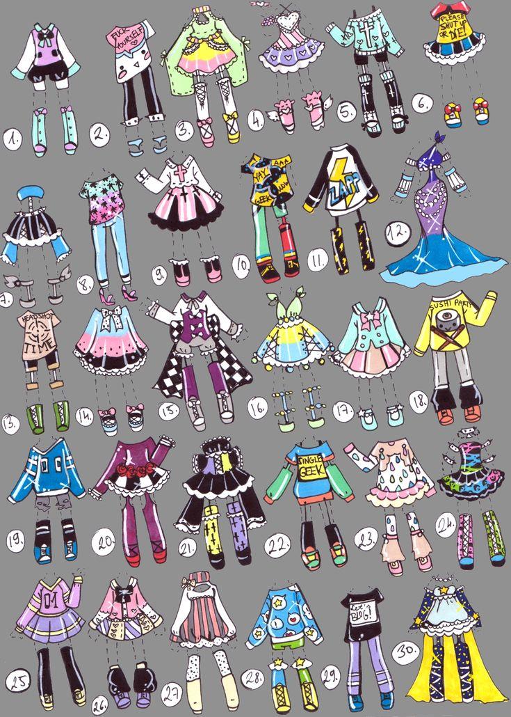 SOLD -ClotheShop - by Guppie-Adopts.deviantart.com on @DeviantArt