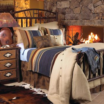 Inspiration for the bedroom of a rustic cabin  cottage or lodge   From  Crows Nest Trading. 25 best Southwestern bedroom images on Pinterest   Southwestern