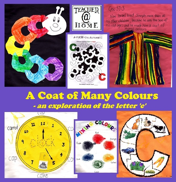 Gods Little Explorers: A Coat of Many Colours - The Story of Joseph