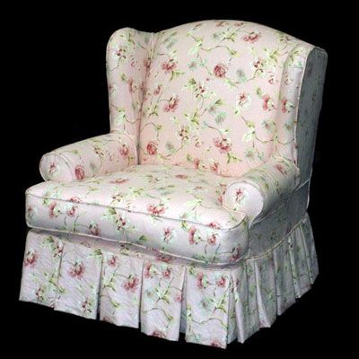Cottage Style Chair Slipcovers Amp Upholstered