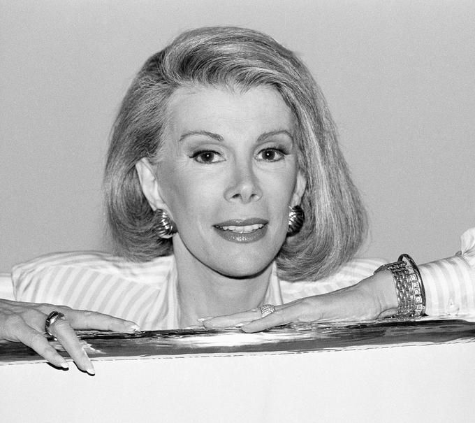 """I succeeded by saying what everyone else is thinking."" -Joan Rivers https://www.lifeposts.com/p/milestone/129/joan-rivers-memorial/lifestory/"