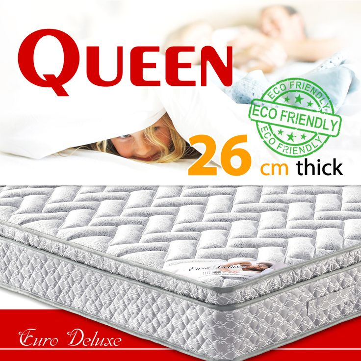 We are glad to introduce you a perfect solution  for your bedroom -   $175.99 Queen size Euro Deluxe mattress  https://www.ozehome.com.au/euro-deluxe-mattress-mb136-queen-size