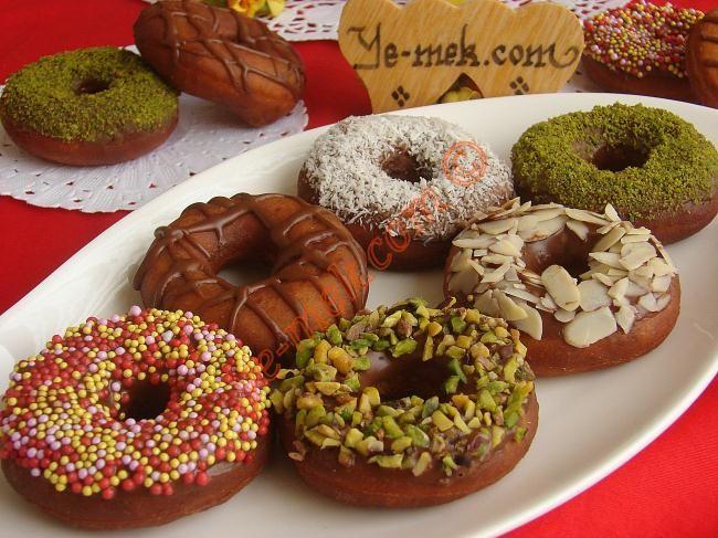 Donut Resimli Tarifi - Yemek Tarifleri