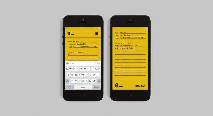 Giovani Architetti - Dario Verrengia – Graphic Design
