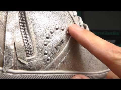 Video recensione sneakers alta P410130D