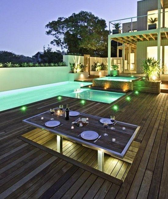 Neue terrasse bauen architektur einrichtung dekoration - Einrichtung dekoration ...