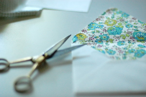 how to make lined envelopes