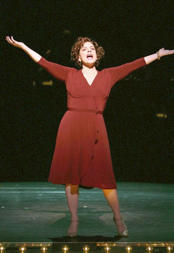 Patti LuPone for Gypsy 2008. So glad I saw this at the St James Theater.
