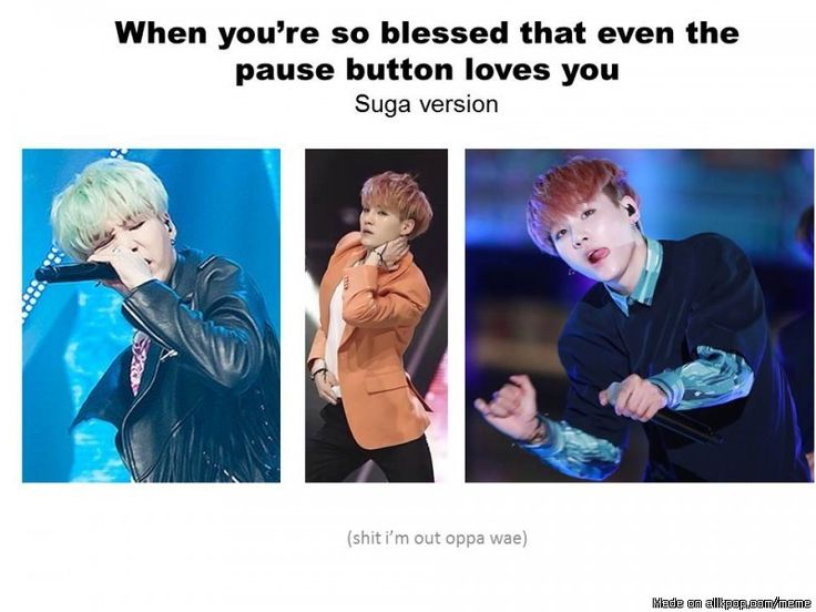 Found another one! The pause button loves #BTS at times #Suga