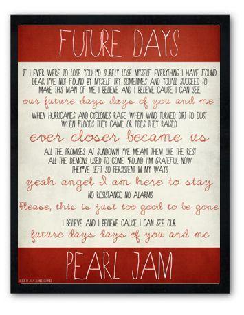 Future Days / Pearl Jam /
