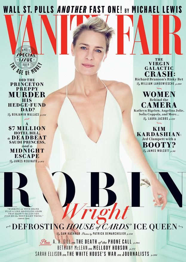 Introducing our April cover star . . . Robin Wright! Get a sneak peek here http://vnty.fr/1C3mndJ