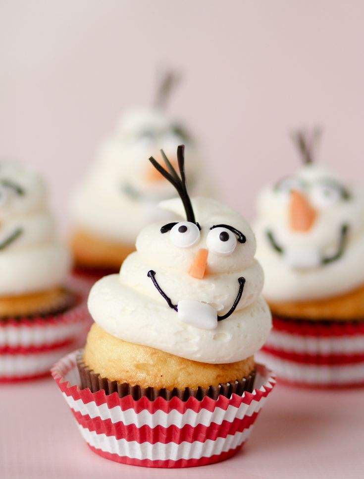Disney's Frozen-Inspired Cupcakes Recipe                                               Spoonful