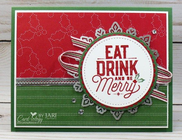 Stampin' Up! Merry Little Labels-CardiologybyJari