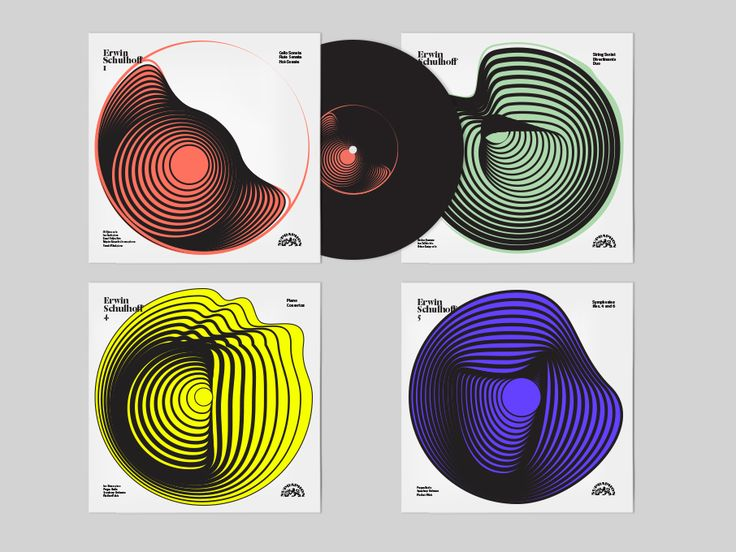 Erwin Schulhoff LP Design
