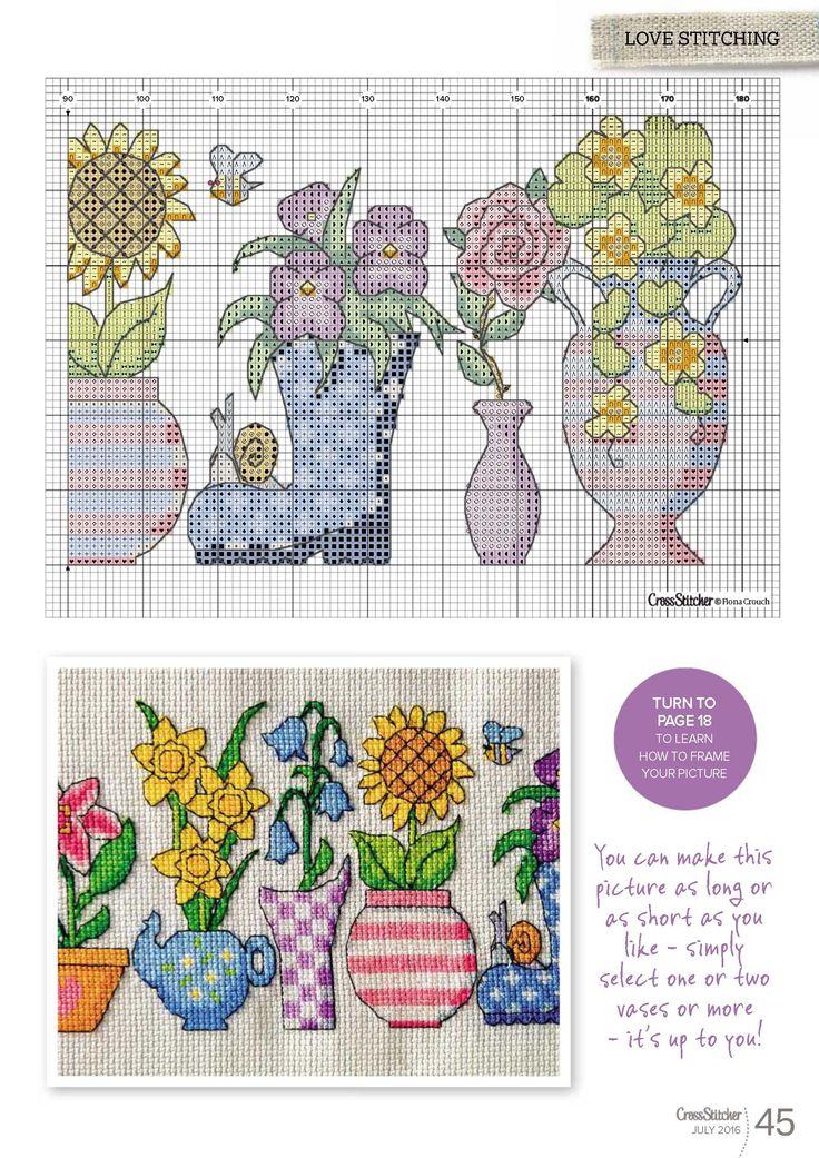 Pots Of Fun Cross Stitcher N°307 July 2016 4 of 4