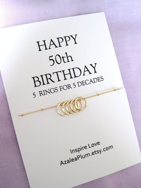 50th Birthday Gift Ideas For Women Friend Sister Gifts