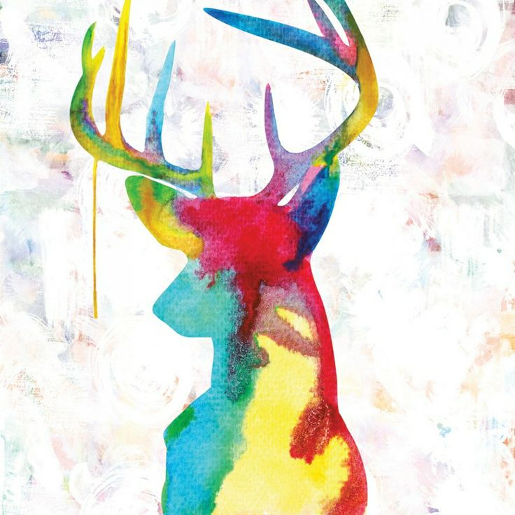 Oh Deer - Canvas art print